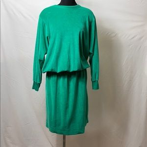 Super rare vintage velour dress Liz Claiborne